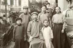 Mandarin Familie / Mandarin family