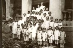 Hongkong: Sonntagsschule (Basler Haus) / Hongkong, sunday school at Baseler house